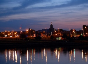 Kraków by night (landszaft)