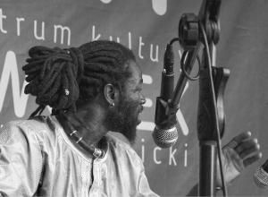 Ablaye Badji & Amadou Fola w Dworku Białopradnickim, sierpień 2020